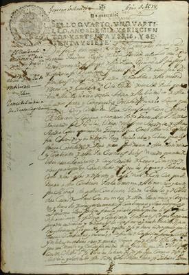 Libro Diocesano 465 de la sección Gobierno serie Religiosos-Mercedarios