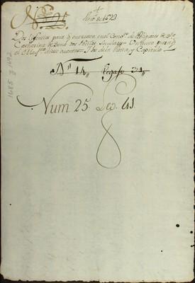Libro Diocesano 522 de la sección Gobierno serie Religiosos-Catarinas