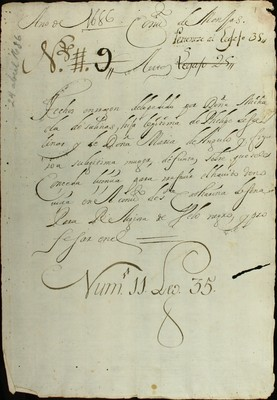 Libro Diocesano 524 de la sección Gobierno serie Religiosos-Catarinas