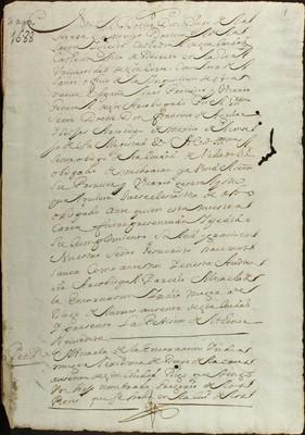 Libro Diocesano 530 de la sección Gobierno serie Religiosos-Catarinas