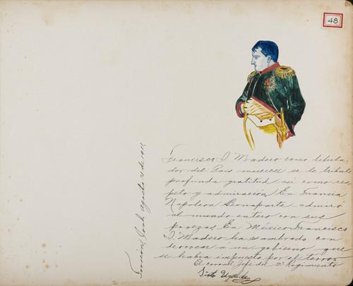Lámina del Coronel Sixto Ugalde, Jefe del 2º Regimiento, maderista y administrador de hacienda para Francisco I. Madero (atribuido)