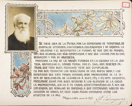 Lámina de [Francisco Echegaray Allen] para Francisco I. Madero (atribuido)