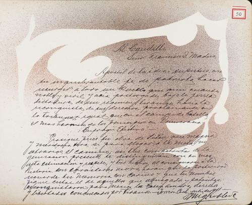 Lámina de Miguel Robles para Francisco I. Madero (atribuido)