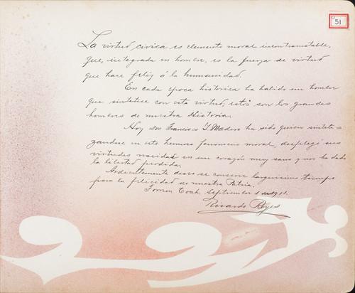 Lámina de Ricardo Reyes para Francisco I. Madero (atribuido)