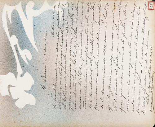 Lámina de Aureliano S. González para Francisco I. Madero (atribuido)