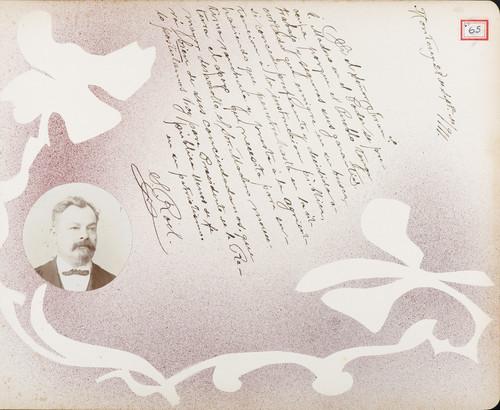 Lámina de S.  Roel para Francisco I. Madero (atribuido)