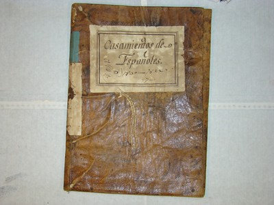 Libro de Matrimonios num. 19