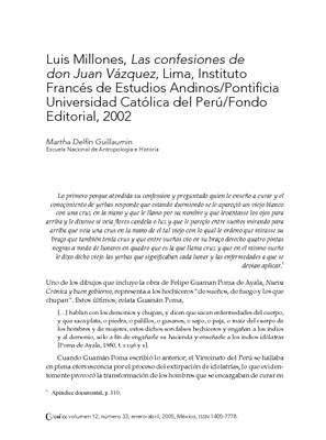 Las confesiones de don Juan Vázquez