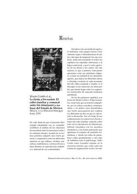 Efraín Cortés, et al., La fiesta a los santos. El culto familiar y comunal entre los otomianos y nahuas del Estado de México, México, INAH (Estudios Monográficos), 2005.
