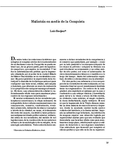 Malintzin en medio de la Conquista