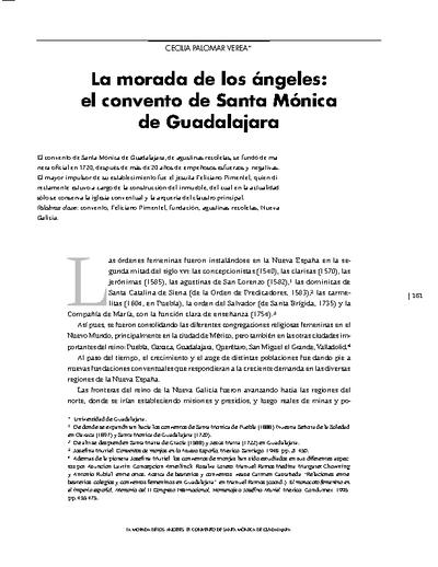 La morada de los ángeles: el convento de Santa Mónica de Guadalajara