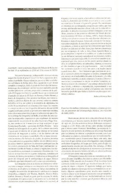 Voces y silencios, Museo del Palacio de Bellas Artes