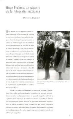 Hugo Brehme: un gigante de la fotografía mexicana