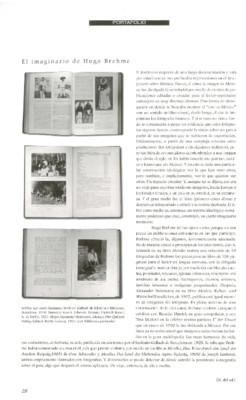 El imaginario de Hugo Brehme / Arno Brehme, un acto olvidado