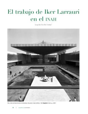 El trabajo de Iker Larrauri en el INAH