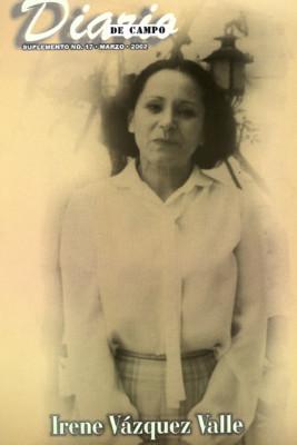 Suplemento 17. Irene Vázquez Valle