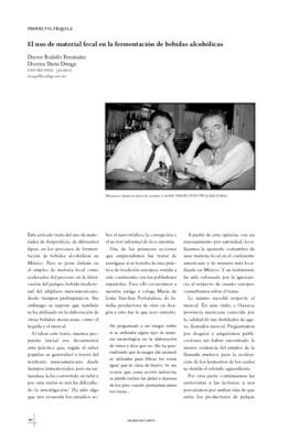 El uso de materia fecal en la fermentación de bebidas alcohólicas