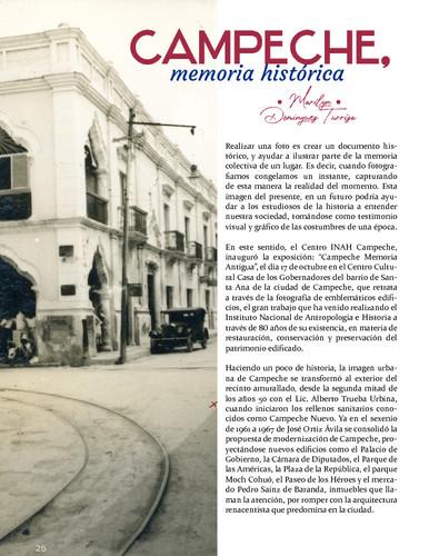 Campeche, memoria histórica