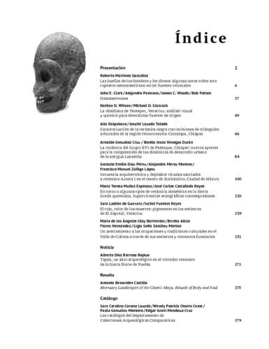 Índice-Presentación