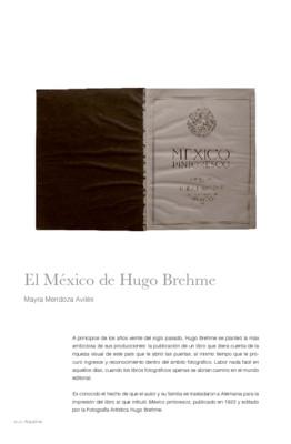 El México de Hugo Brehme