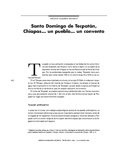 Santo Domingo de Tecpatán, Chiapas… un pueblo… un convento
