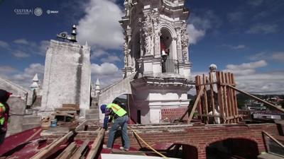 Recuperación de edificaciones en Tlaxcala