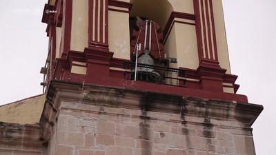 Trabajos de recuperación en el Templo de San Cristobal Suchixtlahuaca, Oaxaca