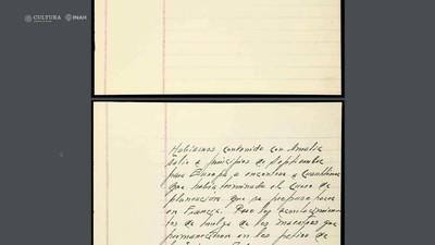 Digitalización y conservación de archivos del General Lázaro Cárdenas