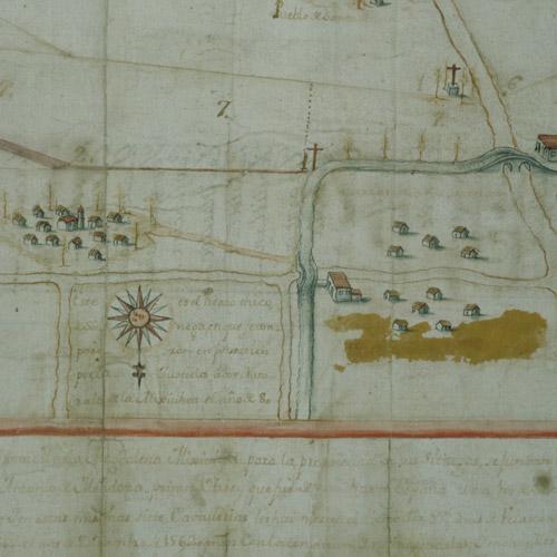 Plano de la Magdalena Mixhuca