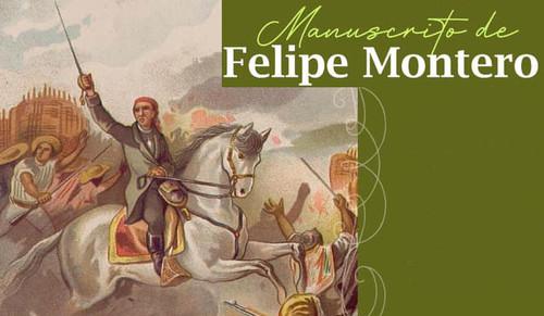 Manuscrito de Felipe Montero