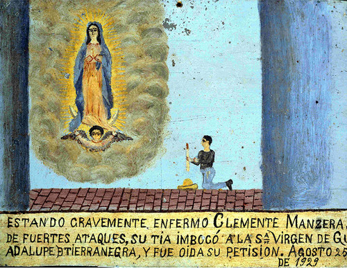 Exvoto a la Virgen de Guadalupe de Tierras Negras