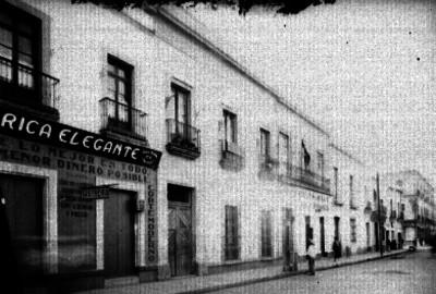 Sastrería y restaurante sobre la calle del Carmen