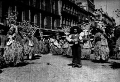 Danzantes durante un festival