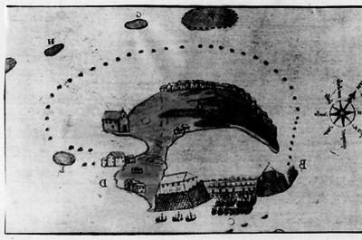 Mapa estilo español del siglo XVI