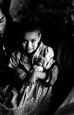 Niña pobre con muñeca, relativo al caso Armenta