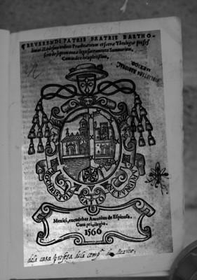 Ley sacramental de profesión teológica, de Bartolome de Ledezma, portada de libro
