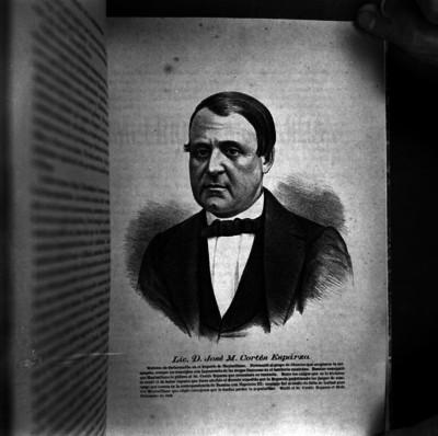 José María Cortés Esparza, grabado