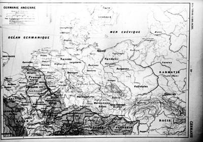 Mapa de Germania