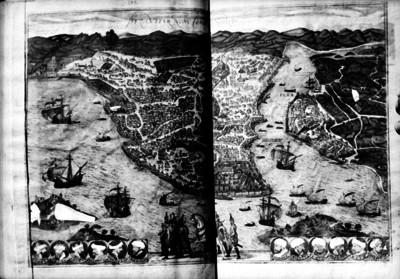 Mapa de Constantinopla