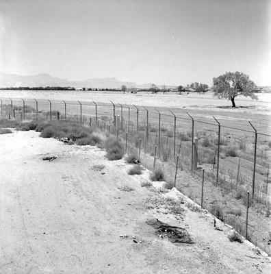 Limites entre el Chamizal y El Paso, Texas