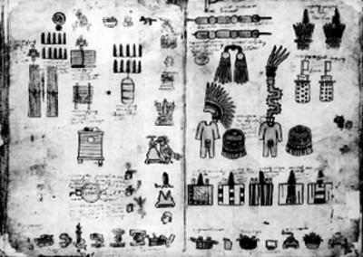 Láminas 21 y 22 de la Matrícula de Tributos
