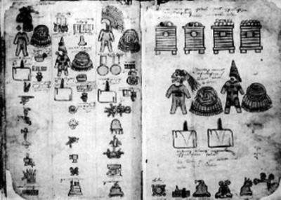 Láminas 19 y 20 de la Matrícula de Tributos
