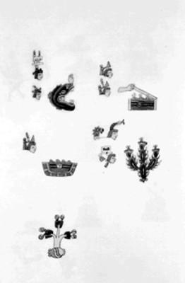 Códice de iconografía prehispánica, lámina