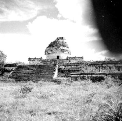 El Caracol u Observatorio, vista frontal