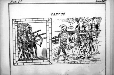 Códice Durán, Soldados españoles e indios, reprografía