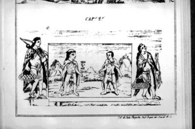 Códice Durán, lámina del capítulo 2