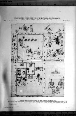 Códice de Iztacmaztitlan o Un levantamiento entre los indígenas perteneciente al libro Documents pour servir a l'Histoire de Mexique, reprografía bibliográfica