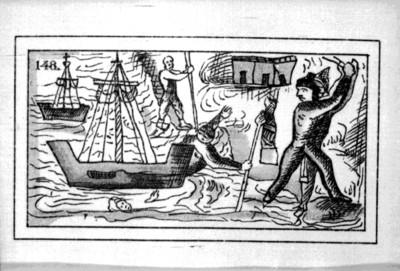 Lámina del libro duodécimo del Códice Florentino, reprografía