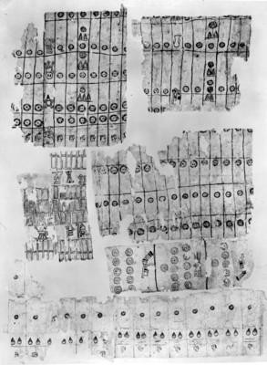 Foja del Códice Mauricio de la Arena