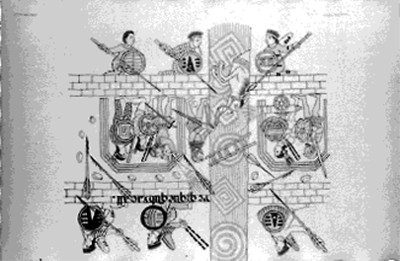 Lámina del lienzo de Tlaxcala, reprografía
